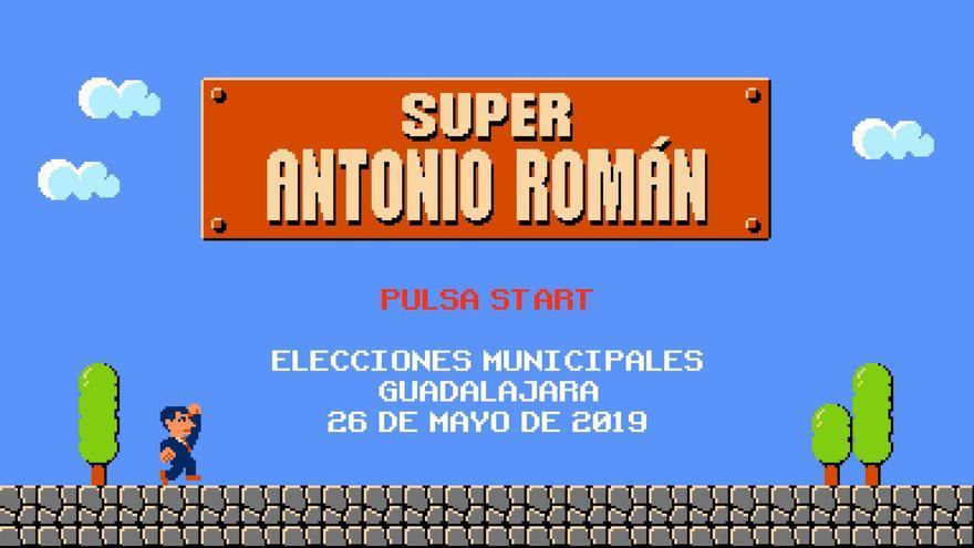 """Captura del videojuego """"Super Antonio Román"""""""