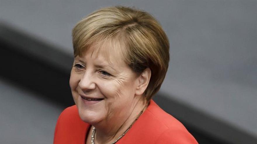 Merkel llama a Europa a hacer oír su voz en la crisis norcoreana