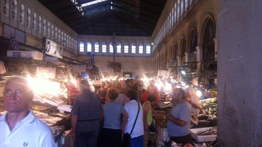 Agora de Atenas. / Foto: Ana Cañil