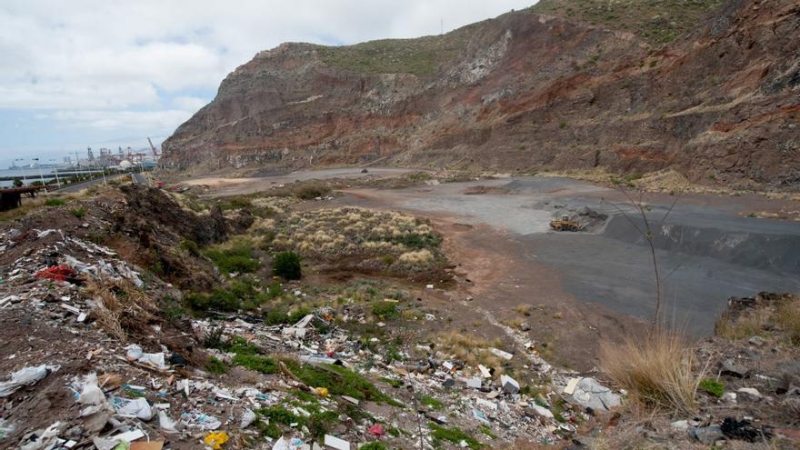 Cantera de Los Pasitos, en la capital tinerfeña, muy cerca de Cueva Bermeja