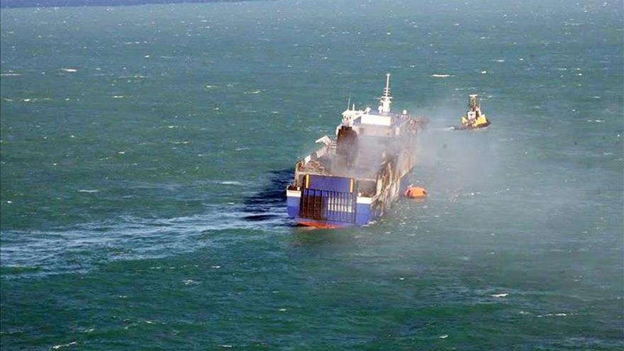 Autoridades italianas hallan nuevo cadáver dentro del Norman Atlantic