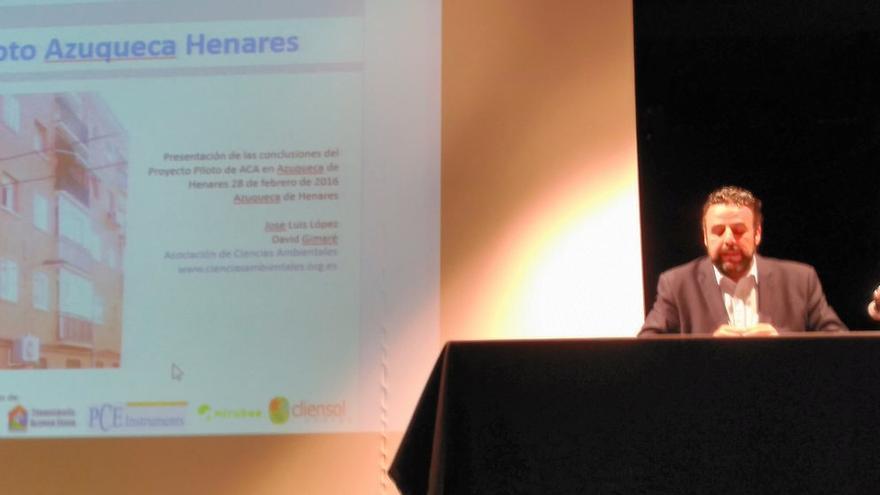 Presentación en Azuqueca del proyecto de ACA sobre pobreza energética