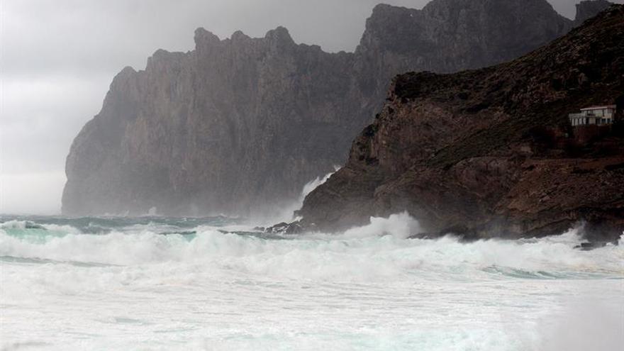 Alerta por temporal en Baleares, con alerta roja en Menorca