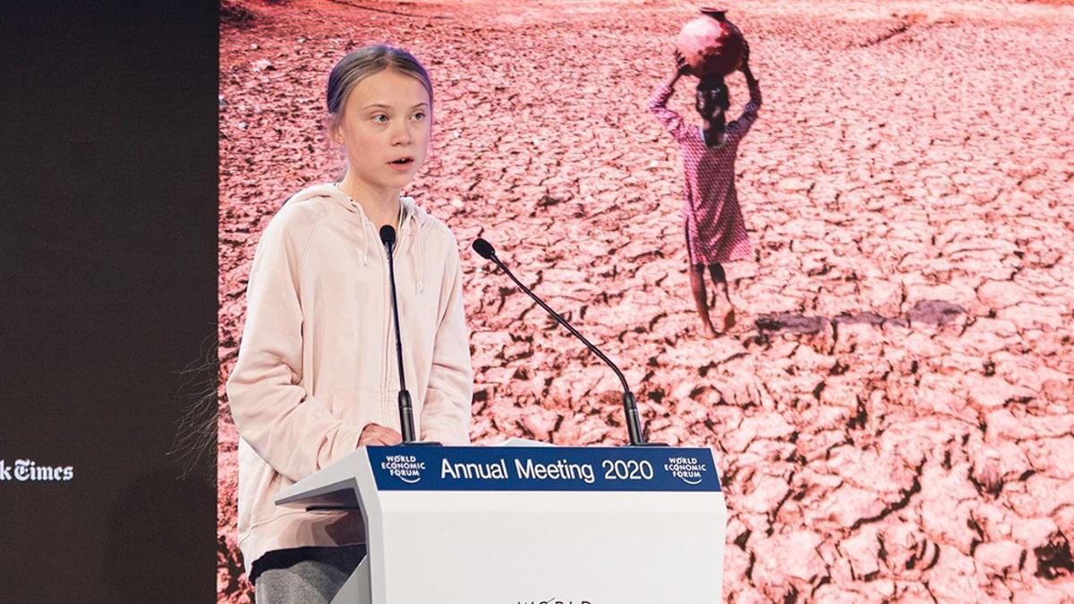 Greta Thumberg cumple 18 años.