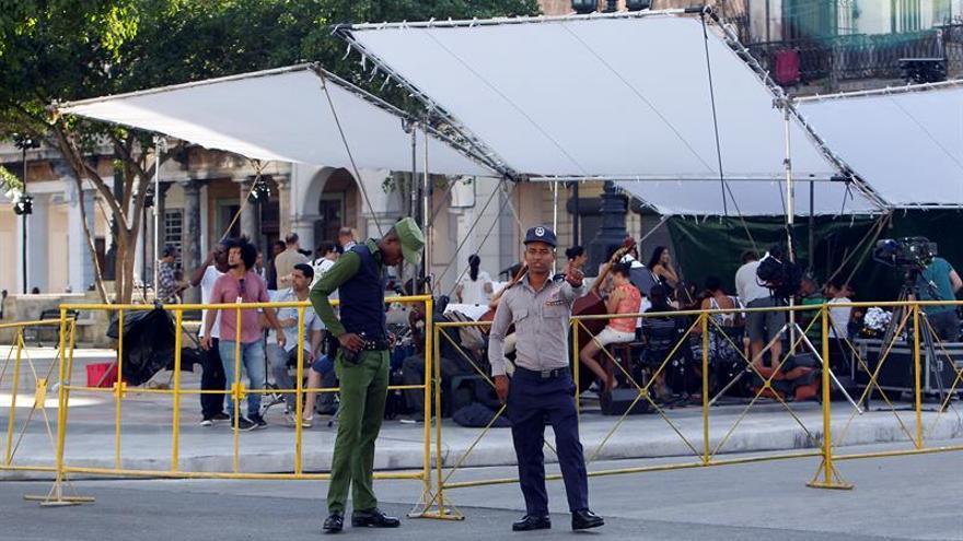 El desfile de Chanel reúne en La Habana a una inusual presencia de celebridades
