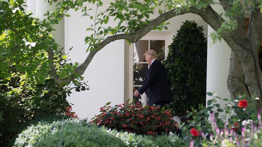 """Trump anticipa un acuerdo comercial """"grande y fascinante"""" con el Reino Unido"""