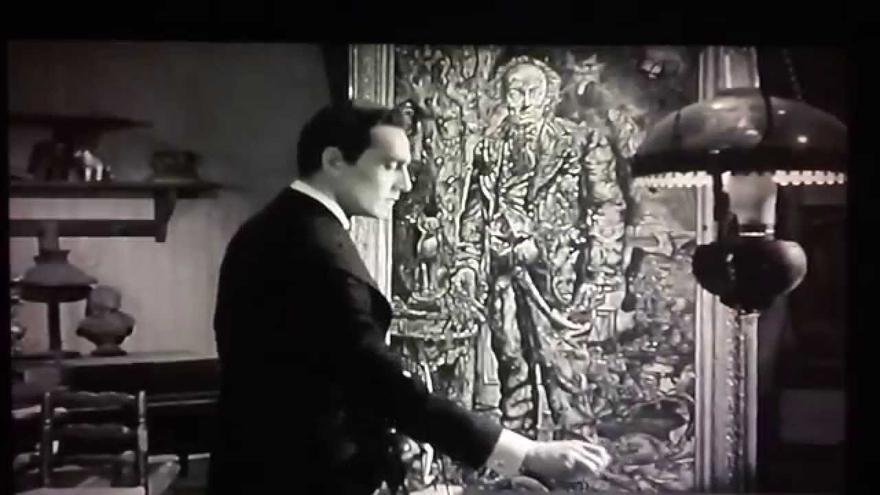 Escena de la película 'El retrato de Dorian Gray'.