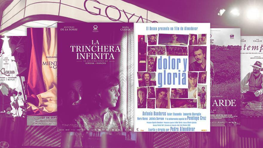 ¿Dónde y cuándo ver las películas de los Goya?