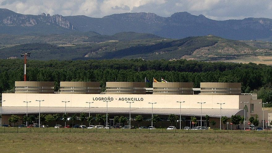 Aeropuerto de Logroño. / Foto: Aena