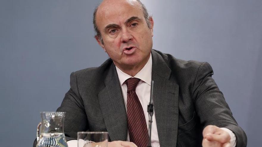 De Guindos ha presentado hoy el mecanismo de cláusulas suelo.