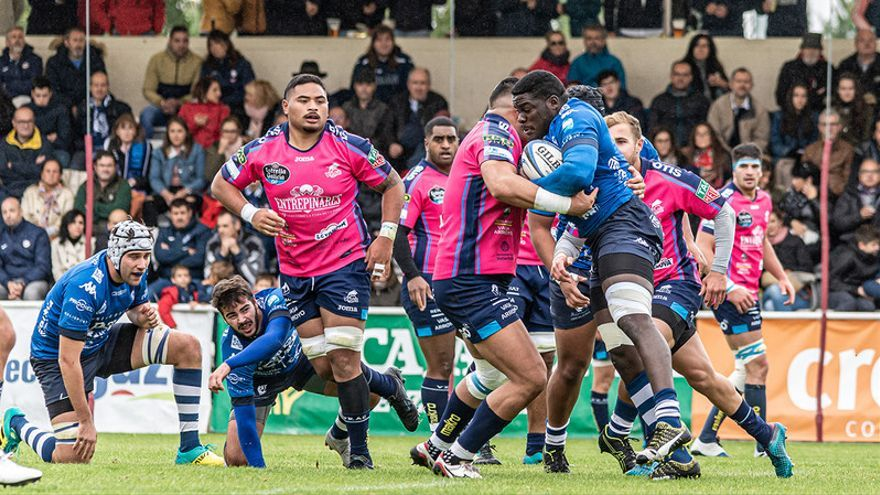 Rugby: Esfuerzo sin recompensa (41-6)