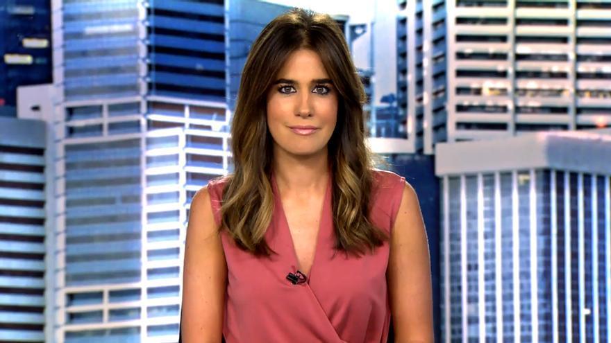 Isabel Jiménez en Informativos Telecinco