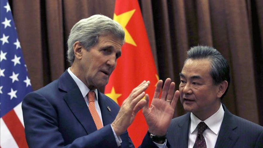 Kerry urge a China a actuar para reducir tensiones en el Mar de la China Meridional