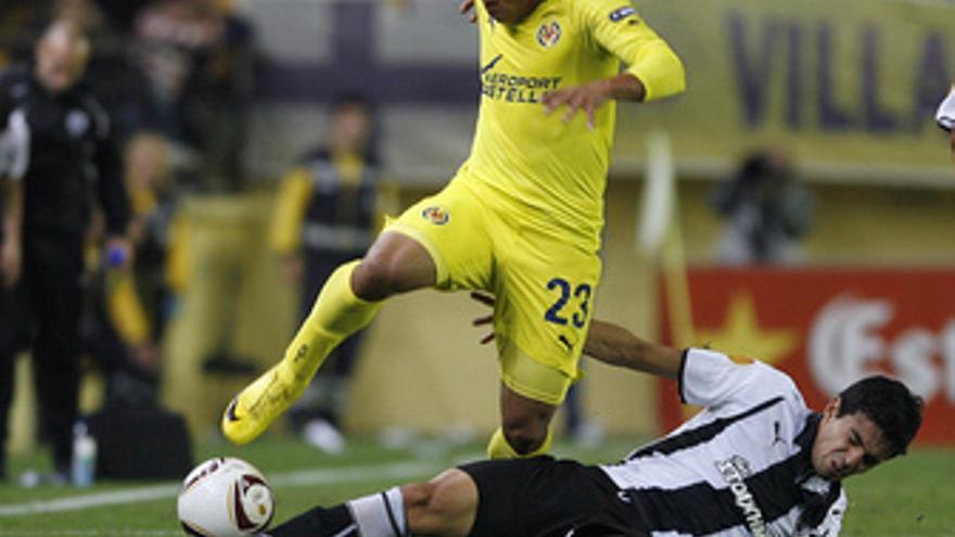 El Villarreal vence en Europa