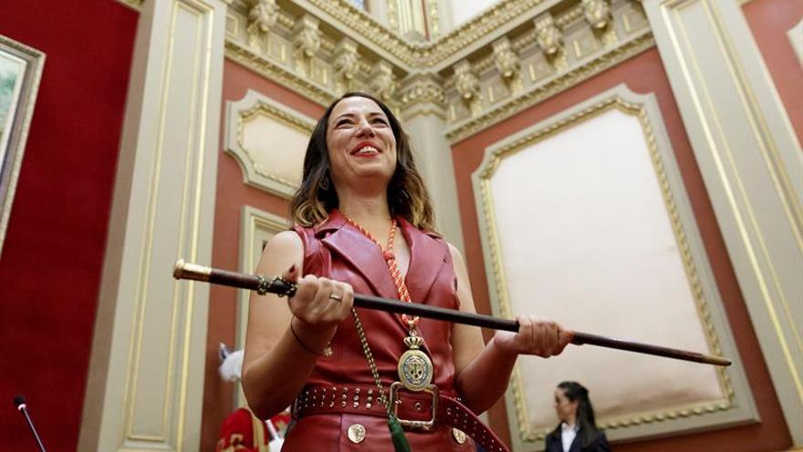 Patricia Hernández, nueva alcaldesa de Santa Cruz de Tenerife.
