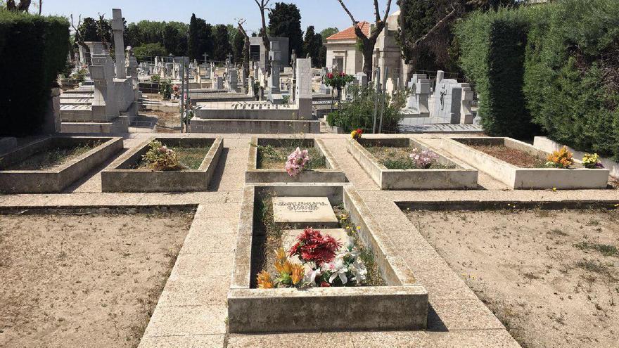Cementerio de la Almudena (Madrid), con los vestigos a la Legión Cóndor retirados