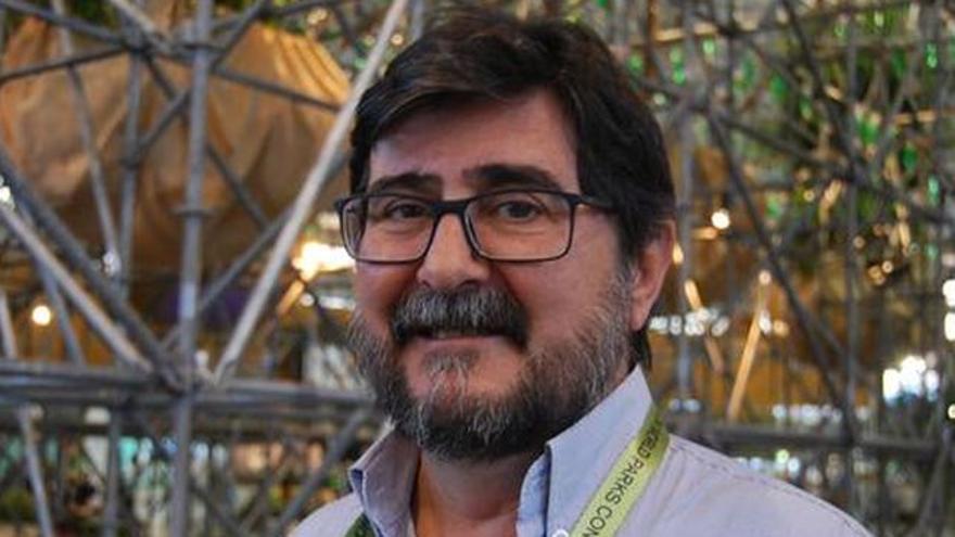 Manuel Durbán, director del Parque Nacional del Teide, ahora bajo control del Cabildo de Tenerife