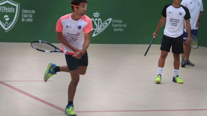 El Círculo acoge el Campeonato de Canarias de Olímpica Absoluto de frontenis