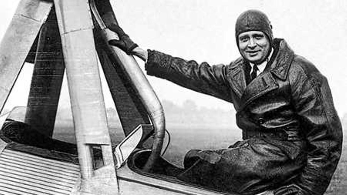 El aviador e inventor Juan de la Cierva