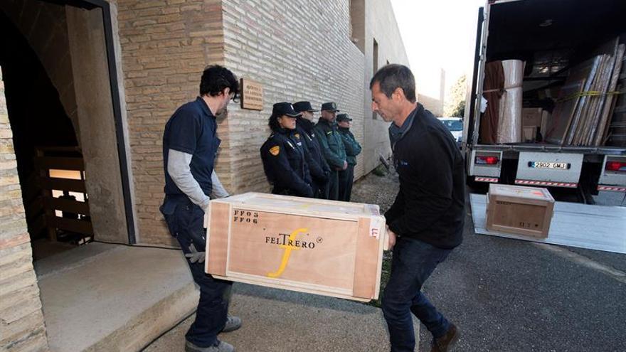 La Generalitat retira los recursos contra el regreso de los bienes de Sijena al monasterio