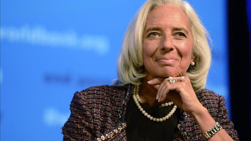 Legarde recibió a Rajoy en el Fondo Monetario Internacional