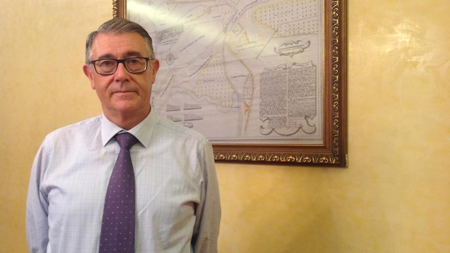 Mario Urrea, presidente de la Confederación del Segura, tras la entrevista a eldiarioclm