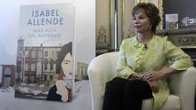 La escritora Isabel Allende en una entrevista.