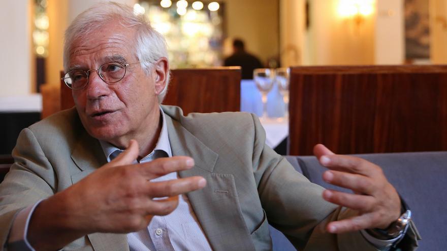 El exministro socialista y expresidente del Parlamento Europeo, Josep Borrell.