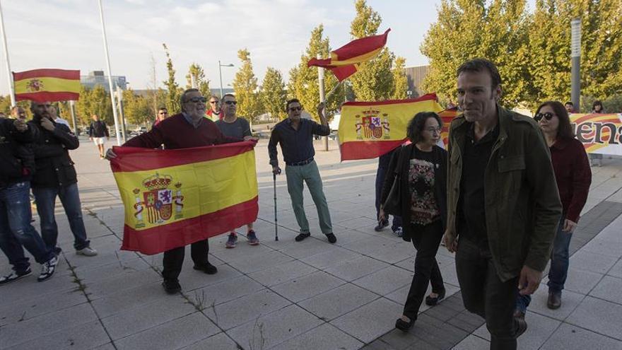 Increpan a los participantes en la asamblea de Unidos Podemos en Zaragoza