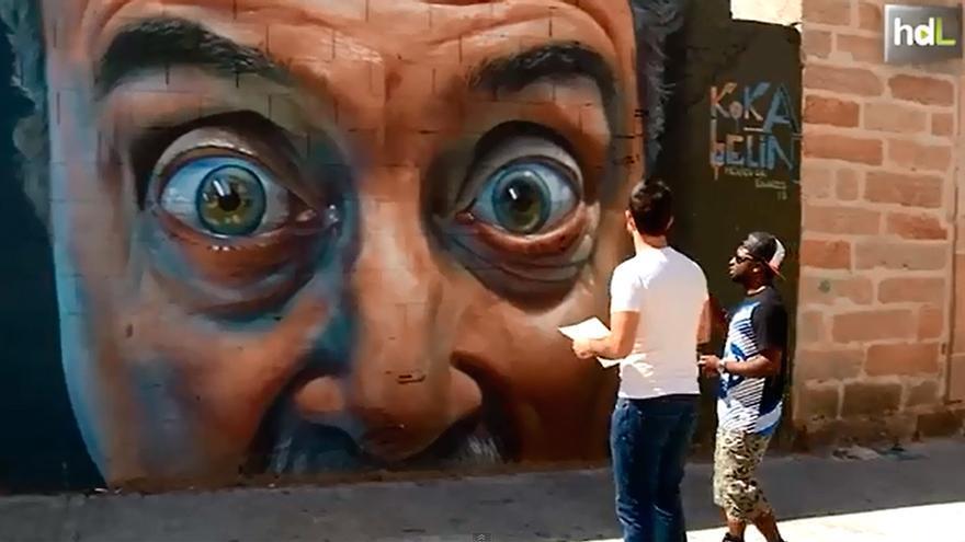 Videorreportaje: ruta de arte callejero en Linares.