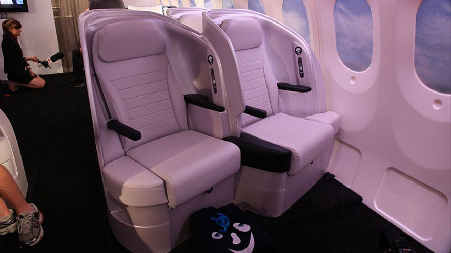 Asiento Premium Air New Zealand / Foto: Kent Wien | Flickr