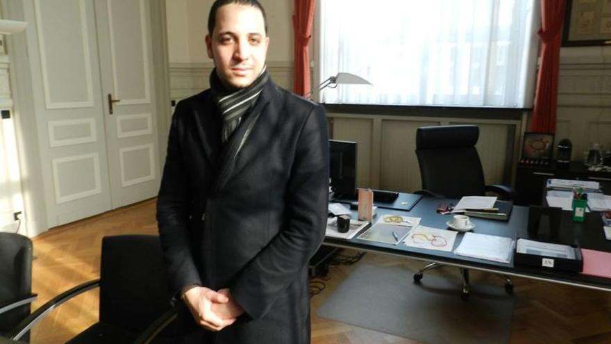 Moad el Boudaati, asesor del ayuntamiento en el programa de desradicalización. / Carlos Herranz