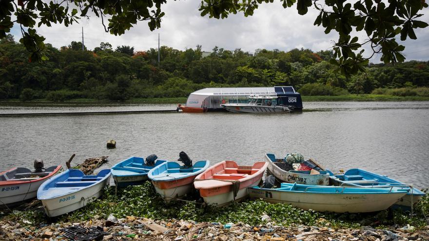 El río Ozama en República Dominicana se vislumbra liberado de plásticos