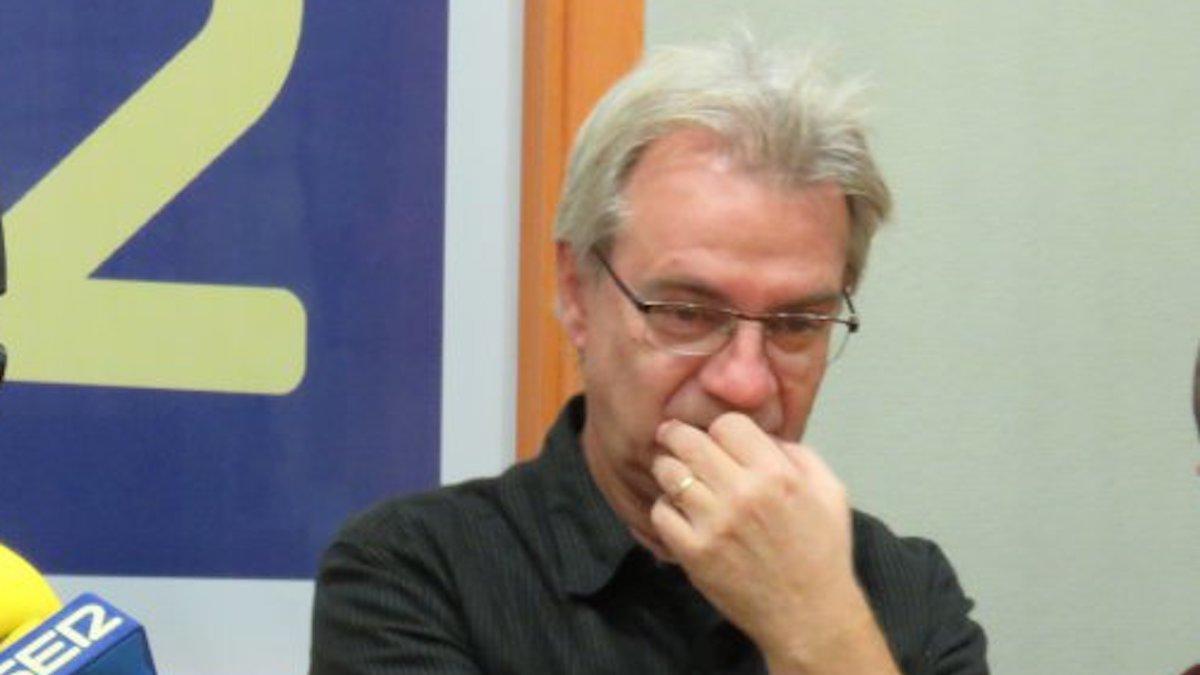 El periodista Ramón Medina.