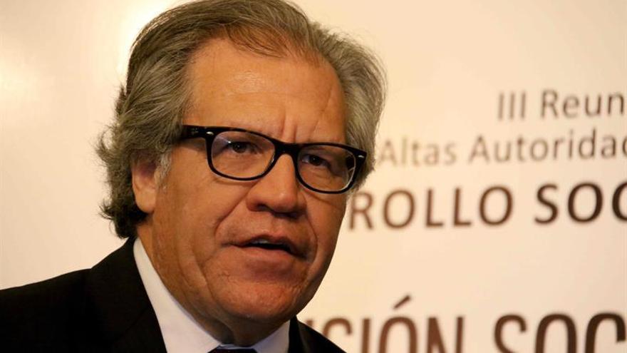 Situación en Venezuela constata los informes de la OEA, dice Almagro