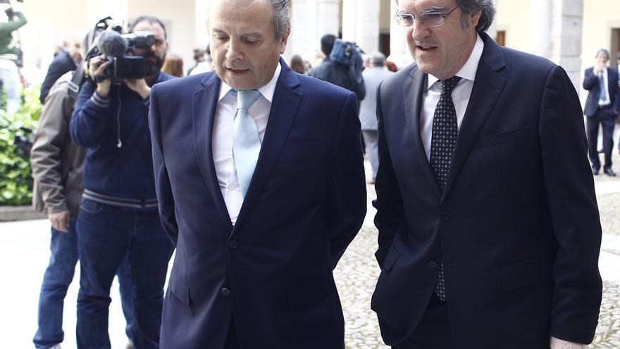 Gabilondo y Carmona, contentos ante las encuestas que reflejan una mayoría de izquierda