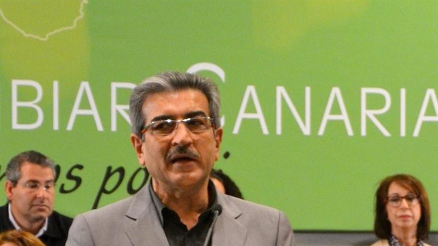 Román Rodríguez en la convención nacional celebrada este 12 de abril.