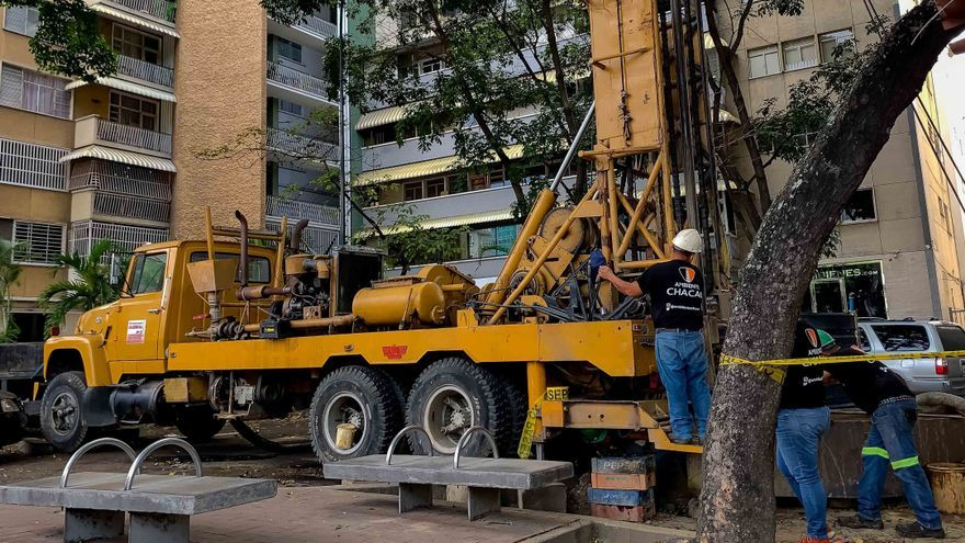 Pozos de agua en Caracas, una solución privada para un servicio público