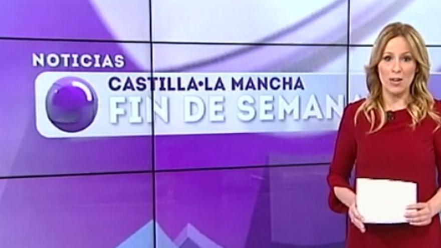 Raquel Martín, presentadora de los informativos de fin de semana de CMT