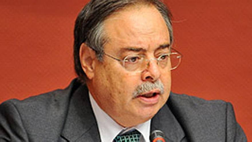 El consejero de Medio Ambiente del Gobierno de Canarias, Domingo Berriel. (CANARIAS AHORA)