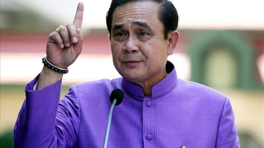 Tailandia recibirá el Año Nuevo con una canción del jefe de la junta militar