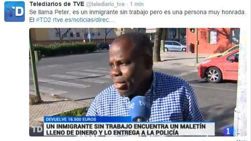 Inmigrante, pero honesto