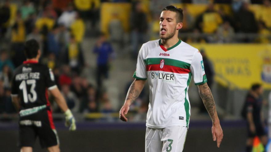 Imagen del encuentro en el Estadio de Gran Canaria entre la UD Las Palmas y el Granada C.F.