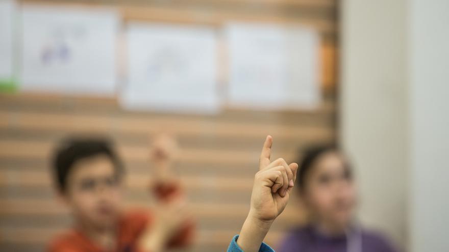 Niños y niñas en clase   © Pablo Tosco / Oxfam Intermón