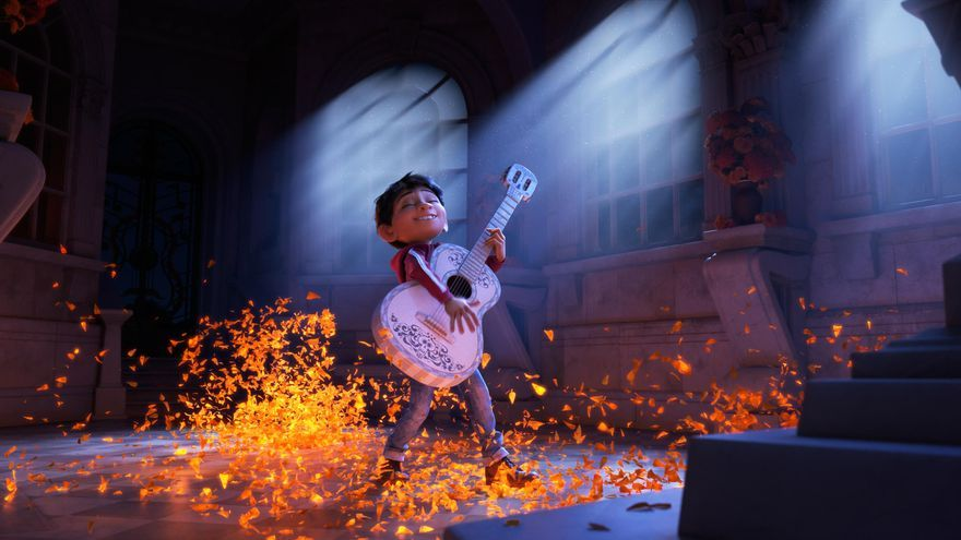 Fotograma del filme de animación de Pixar