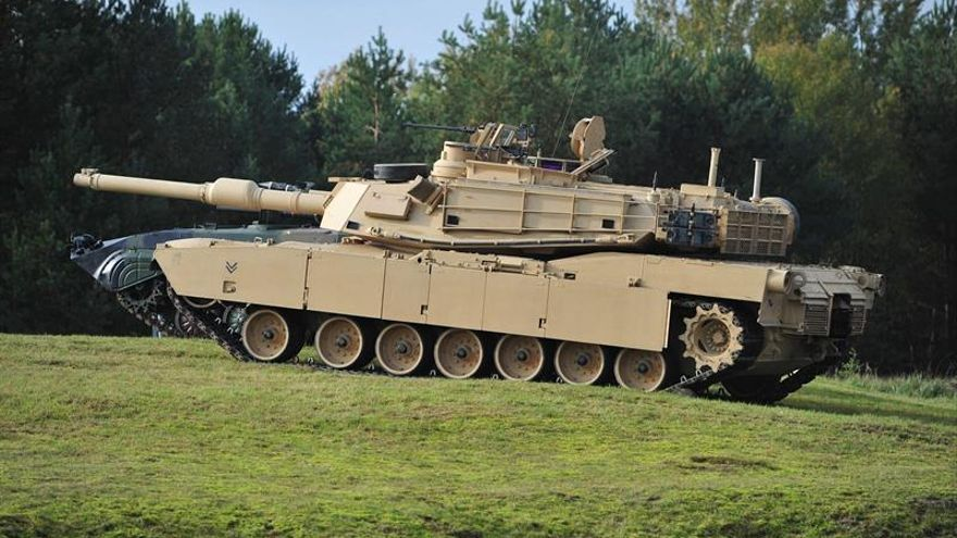 Tanques estadounidenses participarán por primera vez en maniobras en Georgia