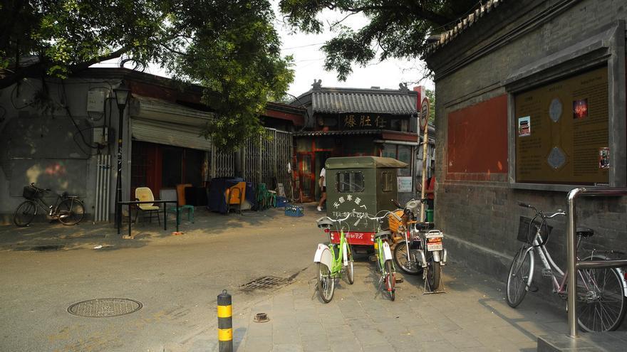 Callejones a dos pasos de las grandes avenidas de Pekín. Caroline Angelard