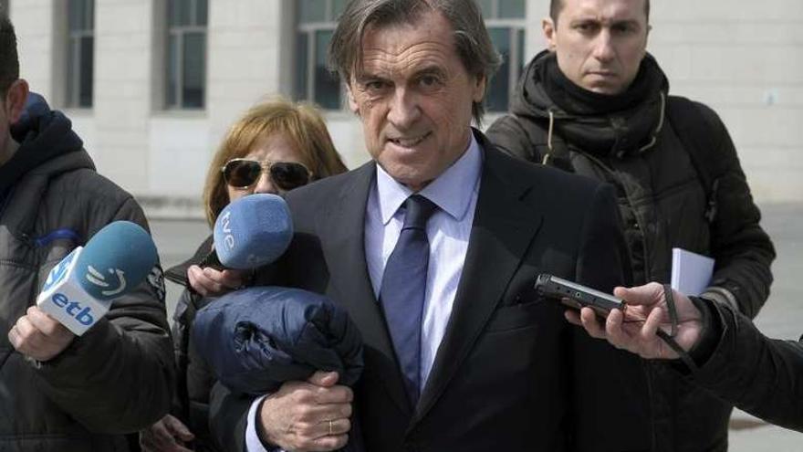 Miguel Archanco, expresidente de Osasuna para el que la Fiscalía solicita una pena de 12 años y 5 meses de prisión