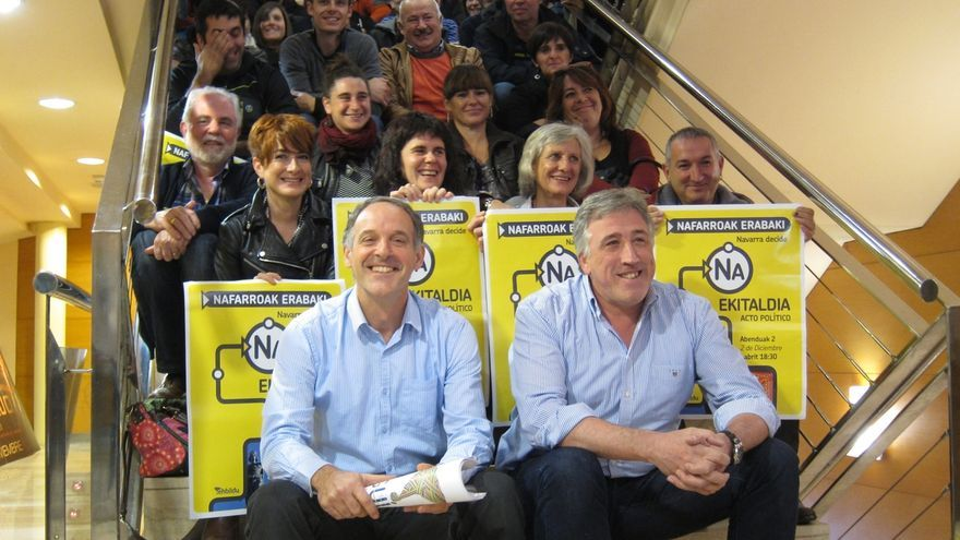"""Araiz dice que EH Bildu está """"dispuesto a dialogar"""" con Podemos para lograr """"un cambio político sin exclusiones"""""""