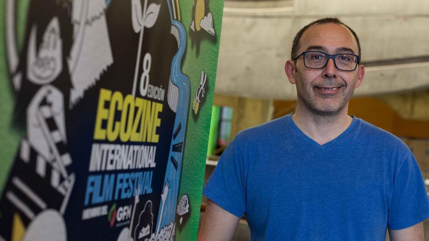 El director del festival, Pedro Piñeiro. Foto: Juan Manzanara
